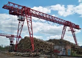 Кран козловой грузоподъемностью до 50 тонн